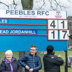 Peebles v Hillhead Jordanhill (41-17)