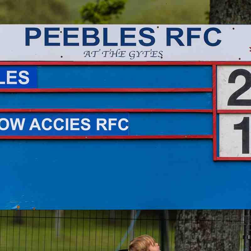 Peebles v Glasgow Accies (27-12)