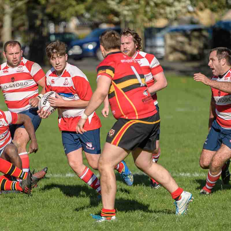 Peebles RFC 2nd XV v Stew Mel 2nd XV (7-41)