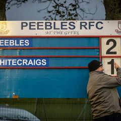 Peebles RFC v Whitecraigs RFC (29-19)