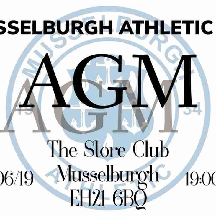 Musselburgh Athletic AGM