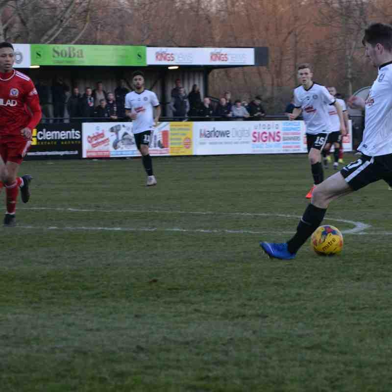 Kings Langley vs Beaconsfield (23/2/18) - Chris Riddell