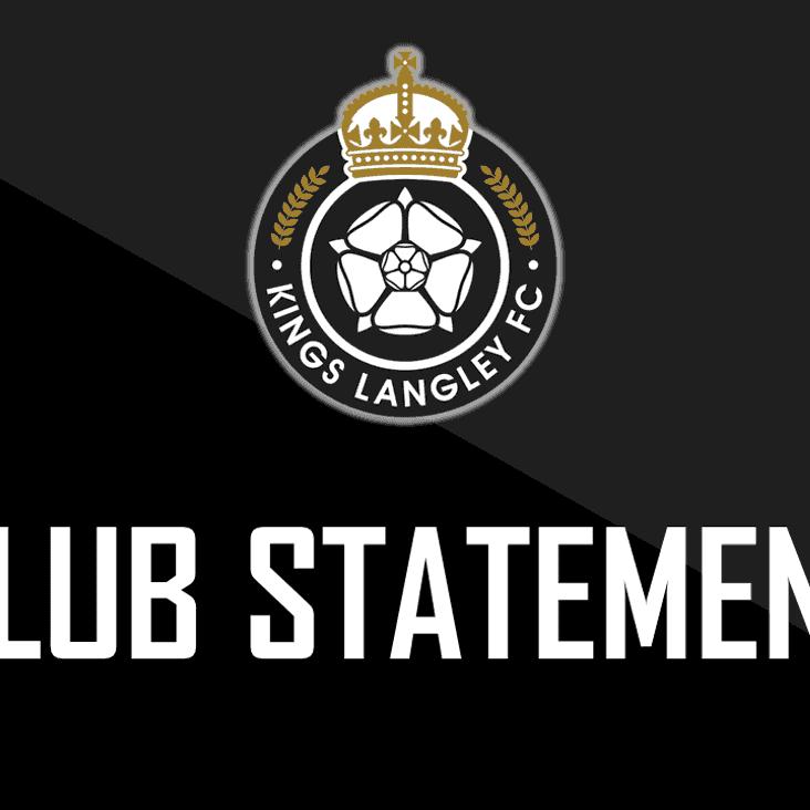 Danny Perman becomes new chairman of Kings Langley Football Club