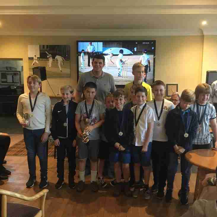 Cricket Juniors Celebrate Another  Successful Season