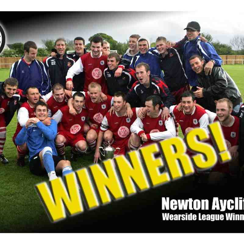 Wearside League title win 2009