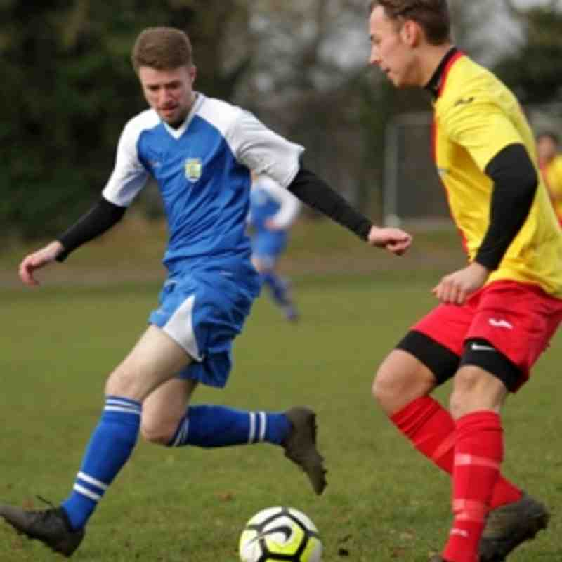 SATURDAY, 13TH JANUARY 2018 - FARNBORO' OLD BOYS GUILD RES VS PARKWOOD RANGERS  FC