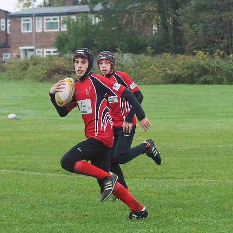 Under 13s v Ashton U Lyne - Sun 30 Oct 2016