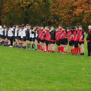 Preston U15's v Bolton U15's