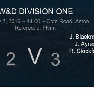 MATCH REPORT: Aston 2 - 3 Eynsham SSC