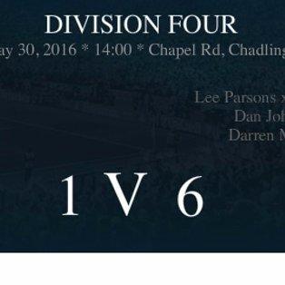 MATCH REPORT: Chadlington Res 1-6 Eynsham SSC Res