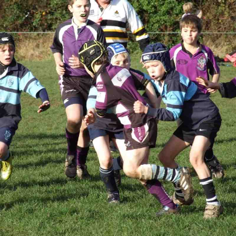 Exmouth u10's v Farnham then Tiverton