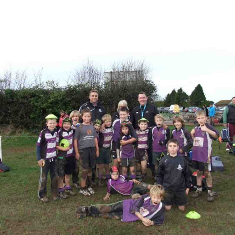 Exmouth v Exeter Chiefs u10's 4th Dec 11