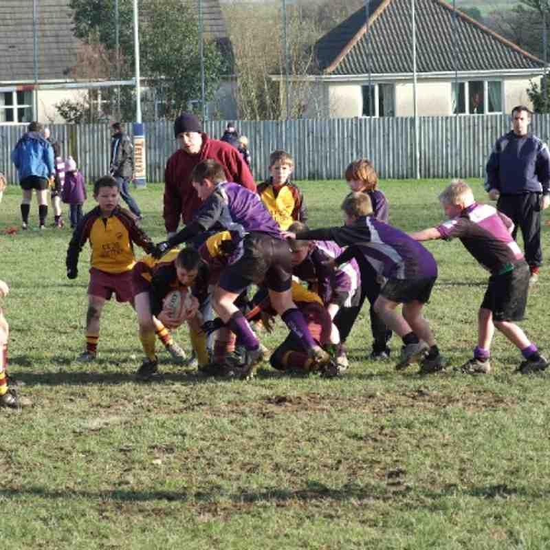 Okehampton v Exmouth u10's (and last weeks photos)