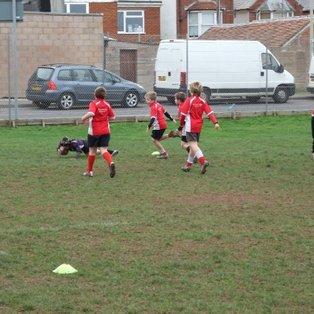 Exmouth U10's  v  Exeter Saracens U10's.