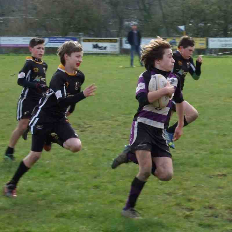 South Molton V Exmouth u12's