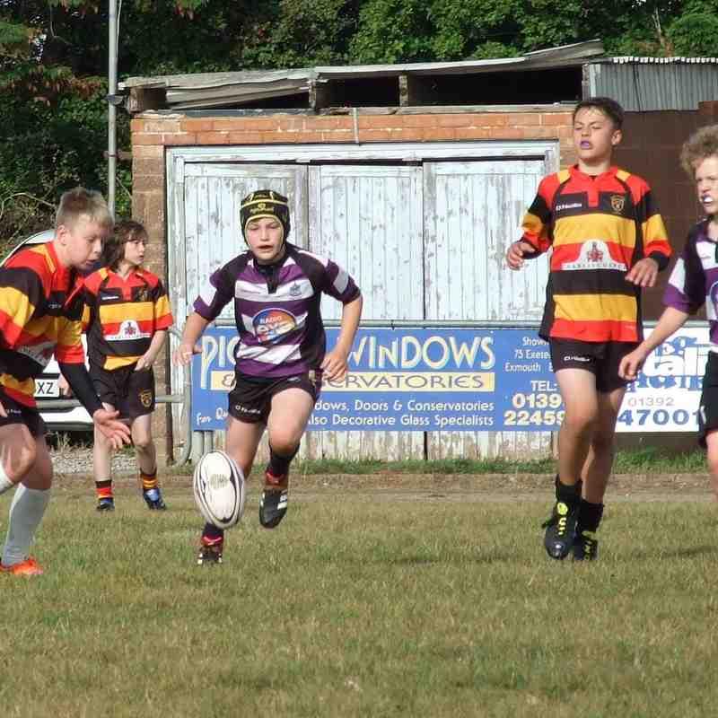 U13's Exmouth v Honiton Prelim Cup Match
