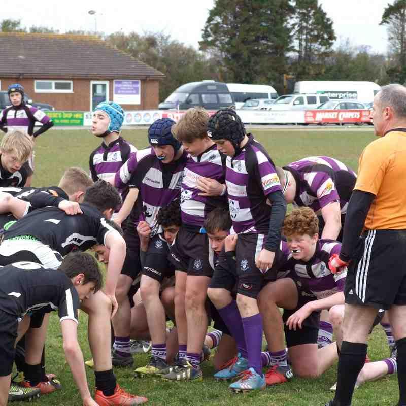 Exmouth V Exeter Youths u14's