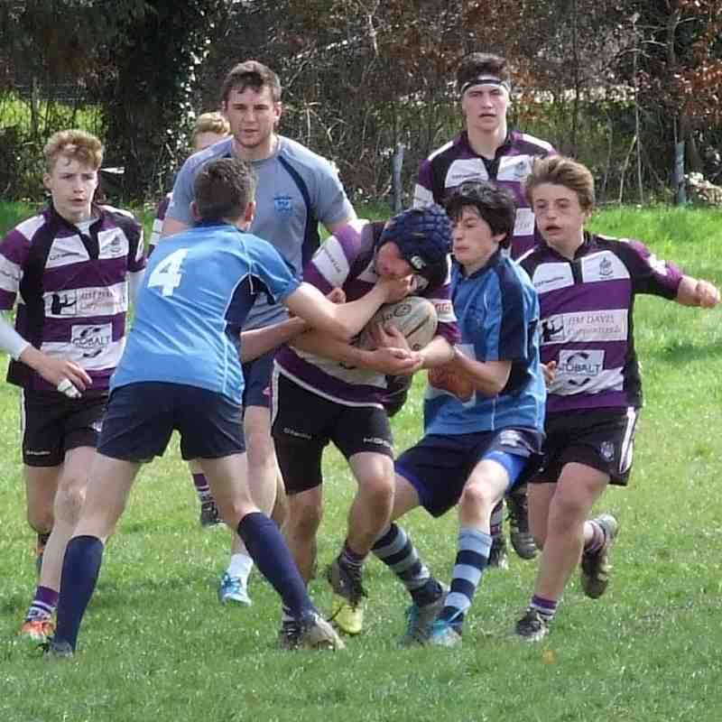 Tiverton v Exmouth U14's