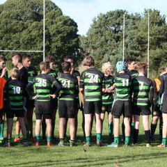 Withycombe v Tavistock u15,s cup match