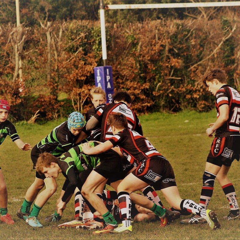 Teignmouth V Withycombe u15's