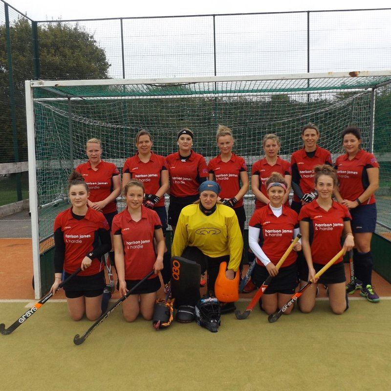 Ladies 1st Team beat East Glos 2 - 5
