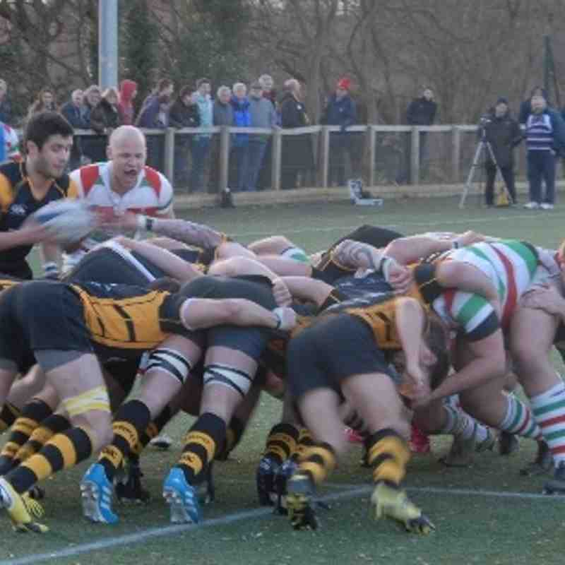 Burnage RFC v Stockport RUFC - Saturday1st March 2014