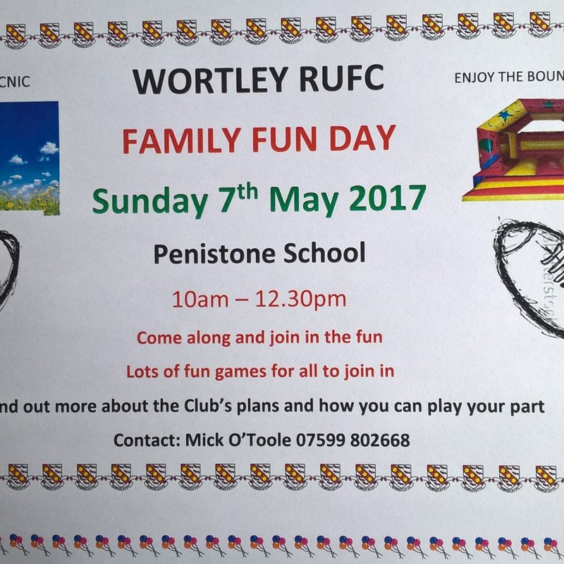 Wortley Family Fun Day -SUNDAY 7th May