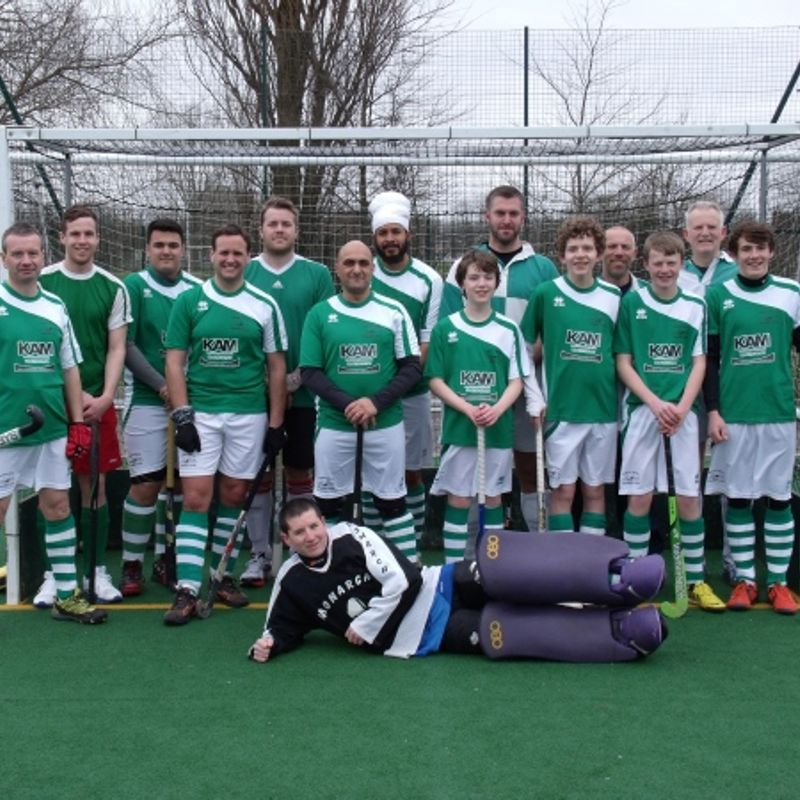 Men's Second Team beat Corsham 1 - 3