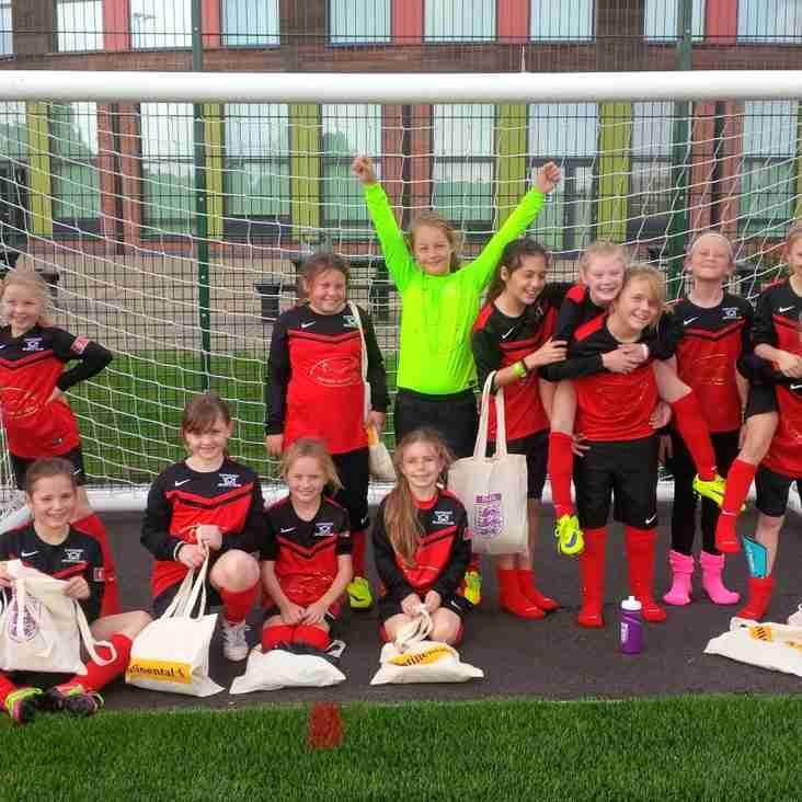 New U10 girls team