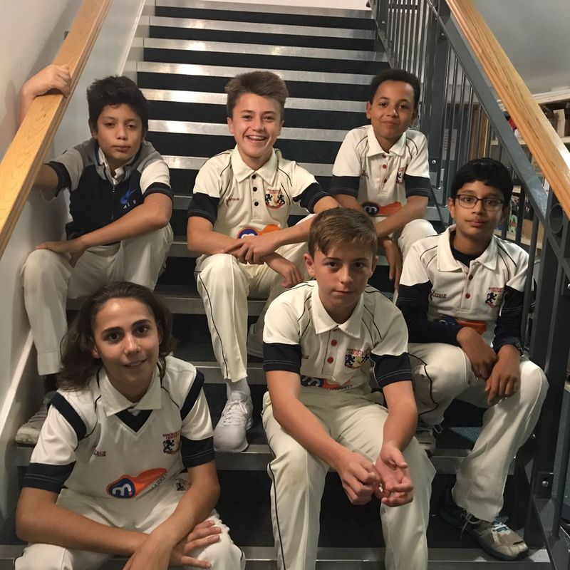 Bancroft Lions CC - Under 15 B 107/4 - 107/5 Ilford CC - Under 15 B