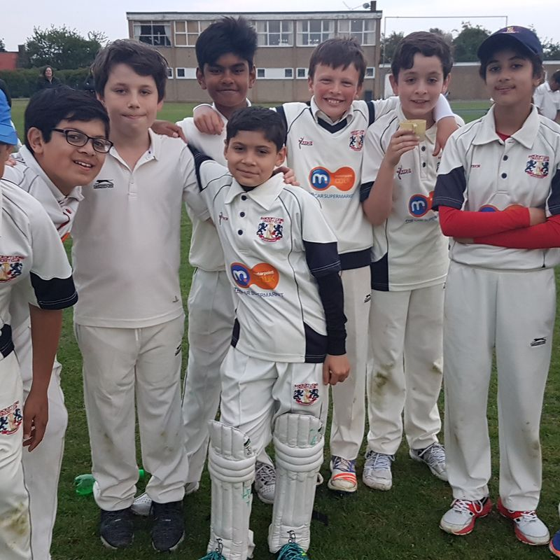 Bancroft Lions CC - Under 13 B 74/1 - 71/6 Walthamstow CC - Under 13