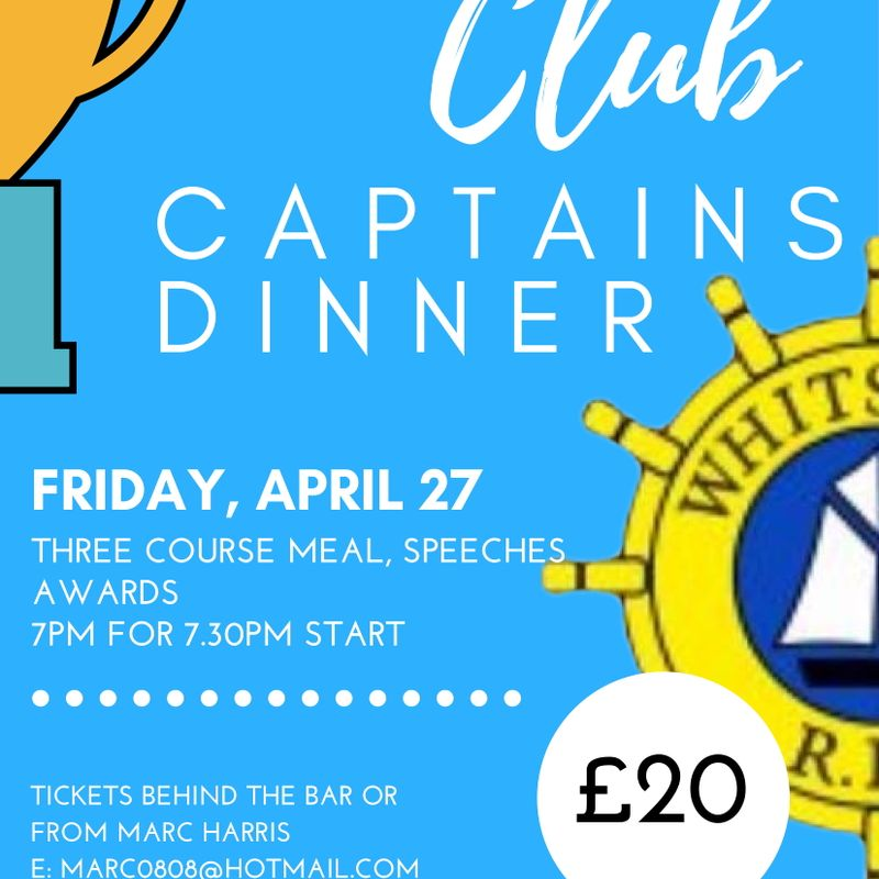 Club Captain's Supper 2018