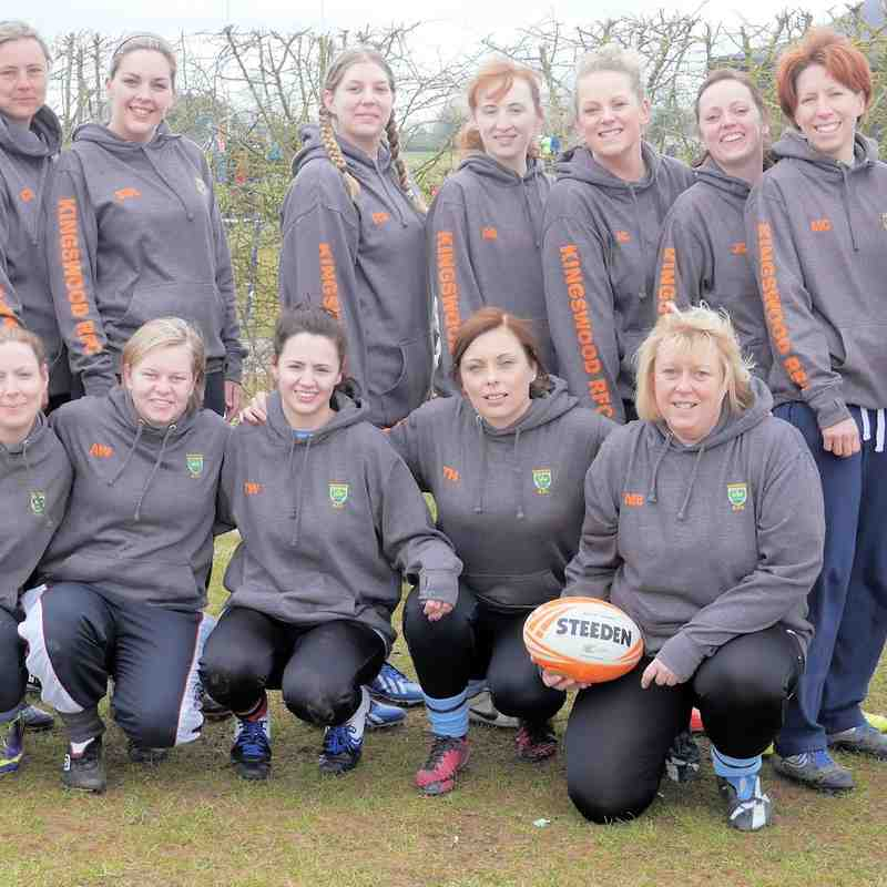 Kingswood Ladies. Spring Chick. 21st March 2015