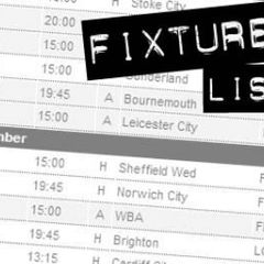 Fixtures are out!!!