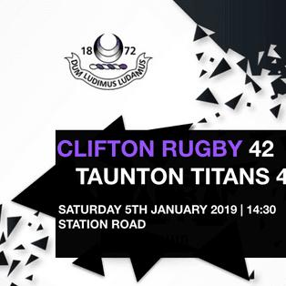 Clifton fall short against Titans