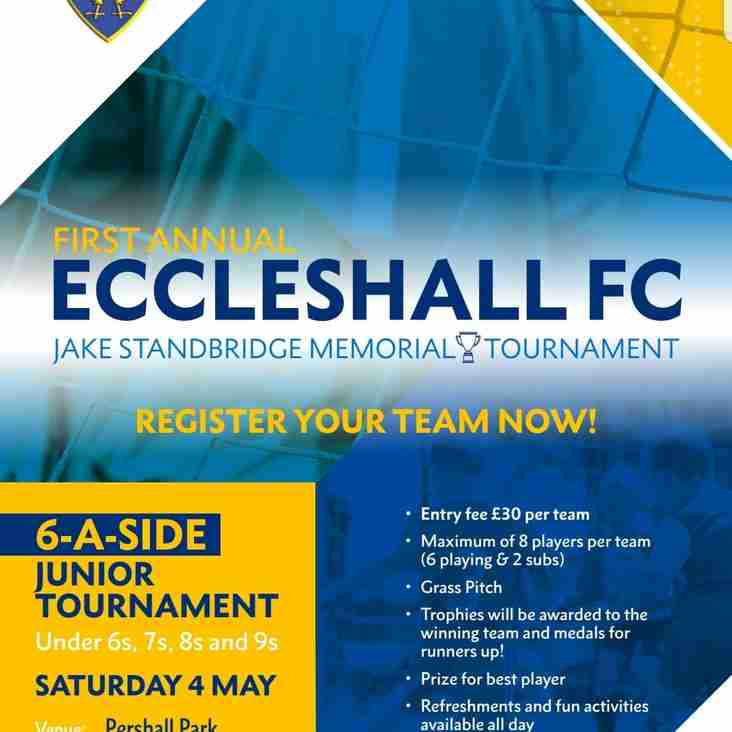 Eccleshall FC Junior Football Tournament