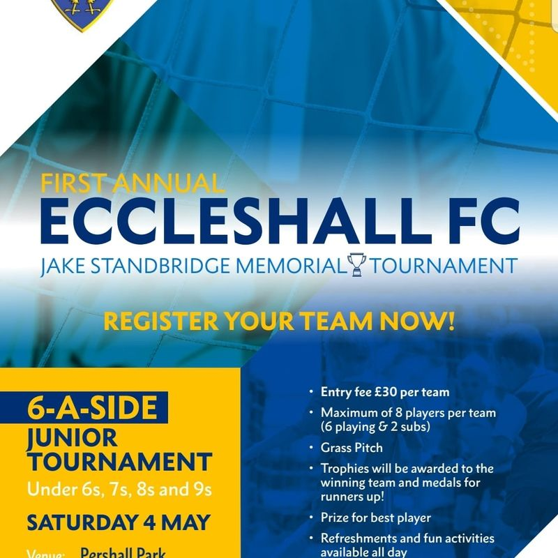 Eccleshall FC Junior Football Tournament