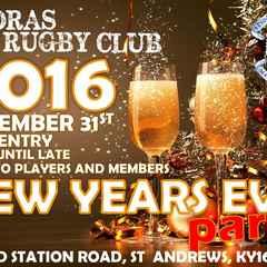 Madras Rugby Clubs Hogmanay Bash 2015-2016
