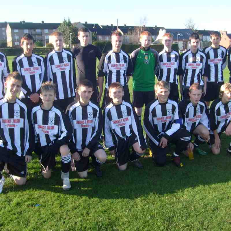 Under 17s Colts season 2009-2010