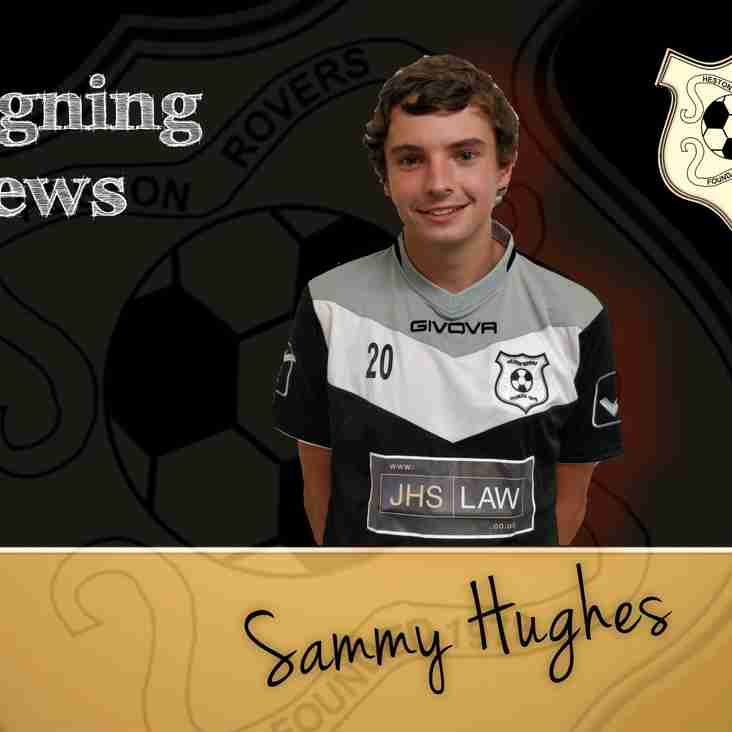 Sammy Signs On