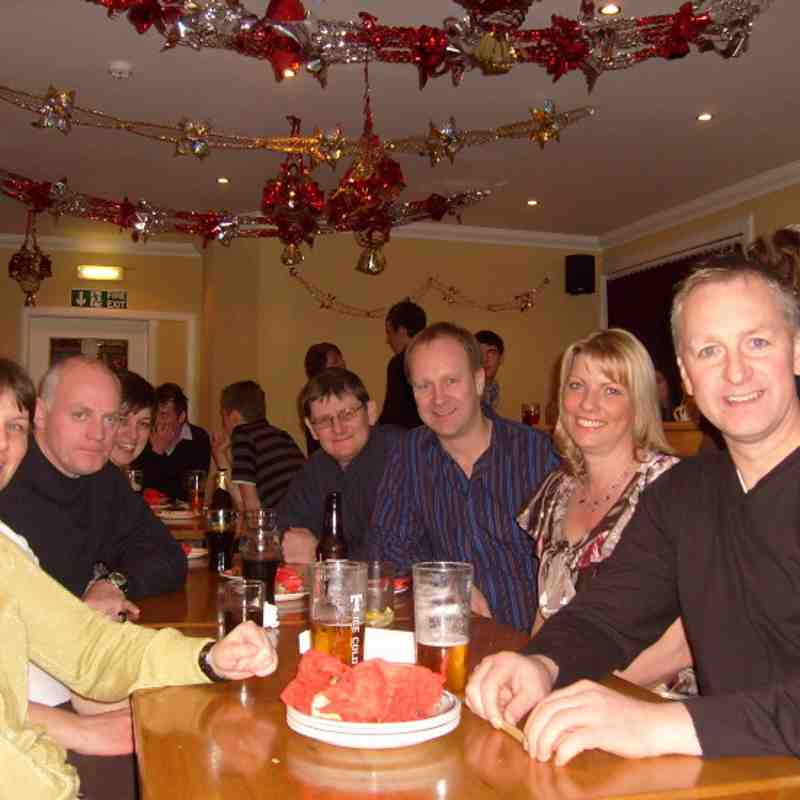 Social night out 3 January 2009 Town House Hotel