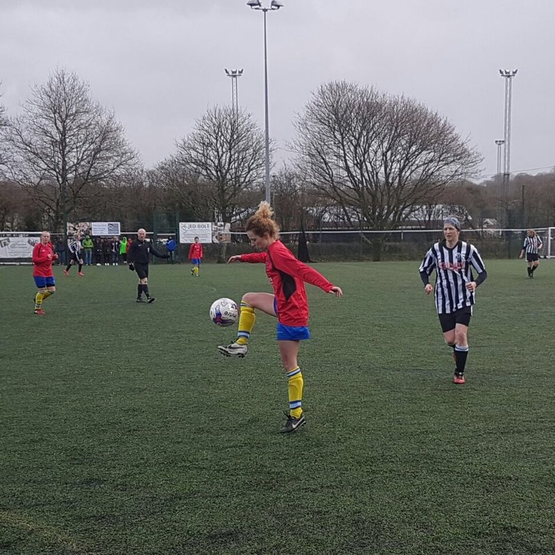 Town Ladies Make County Cup Semi-Final