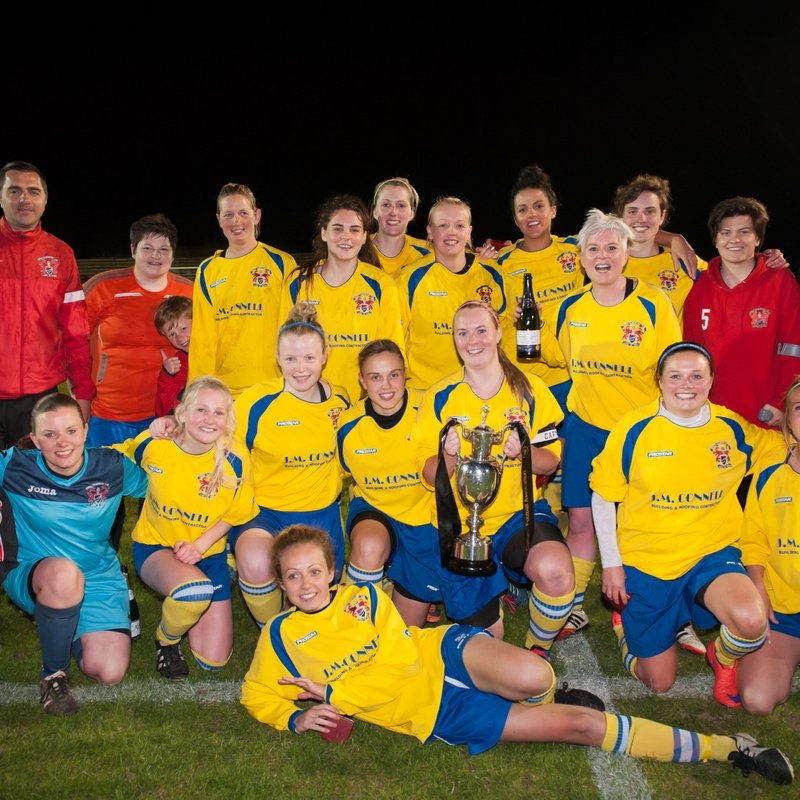 CALLINGTON LADIES LIFT COUNTY CUP ONCE AGAIN