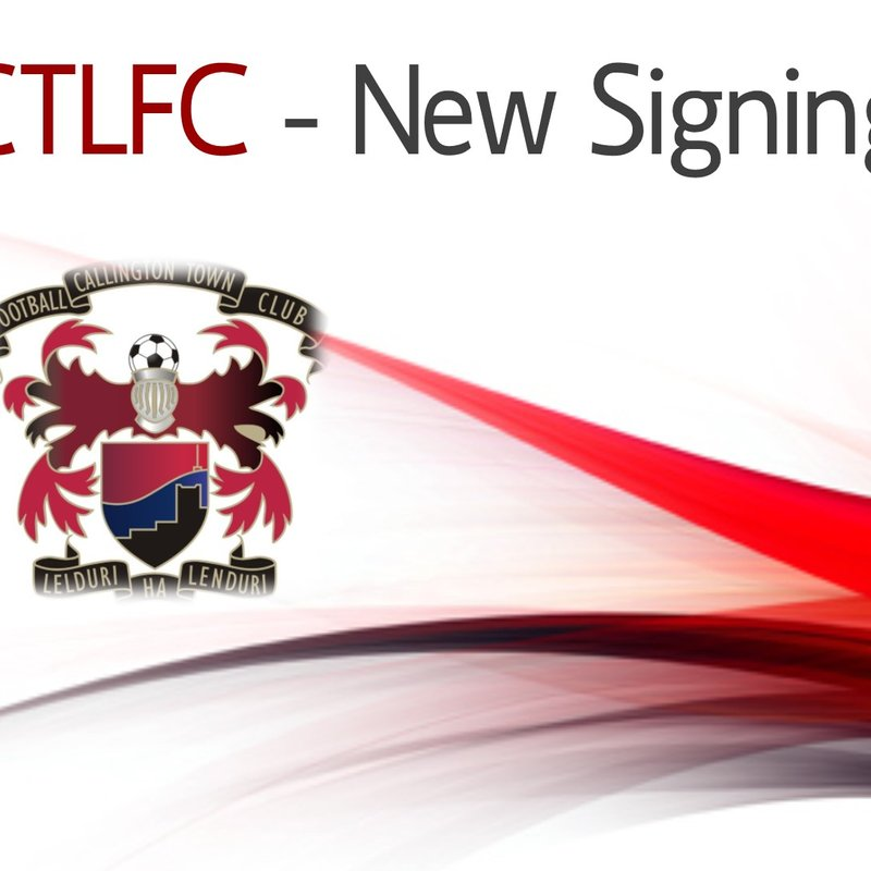 CTLFC - New Signing