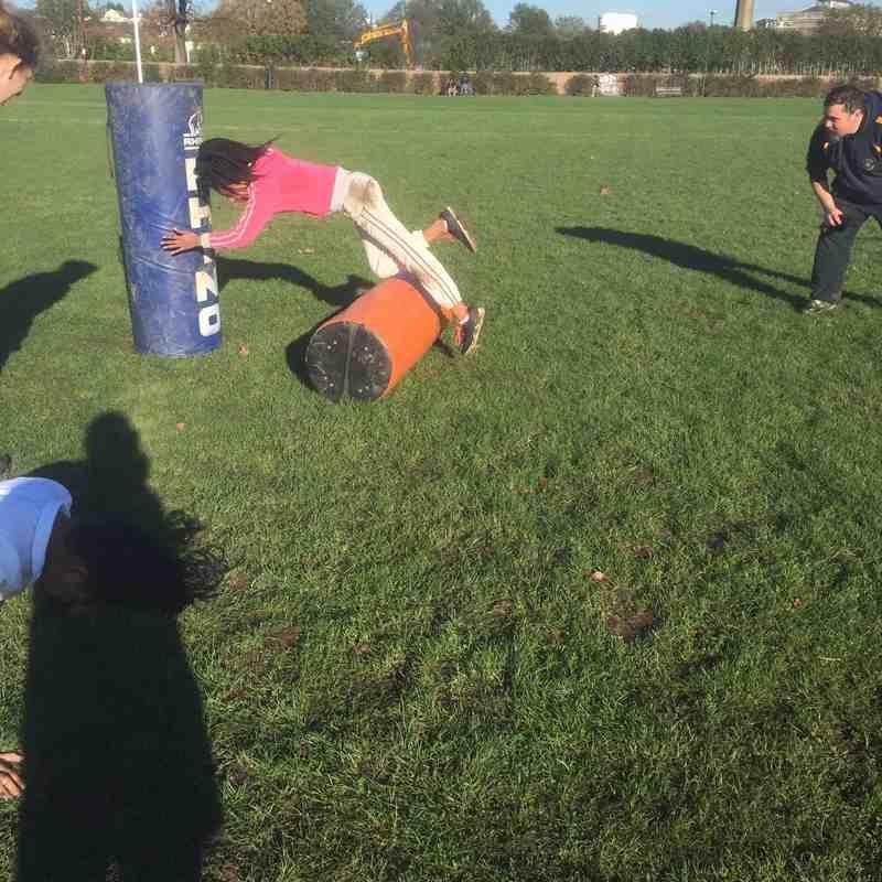 Kilburn Girls Rugby