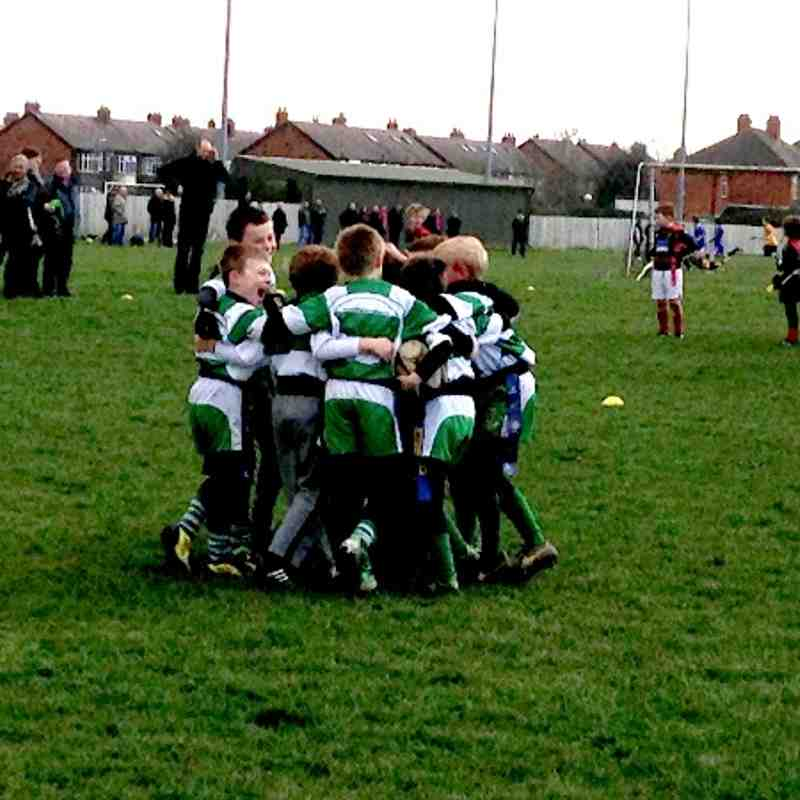 Billingham U8s Vs Stockton & Sunderland