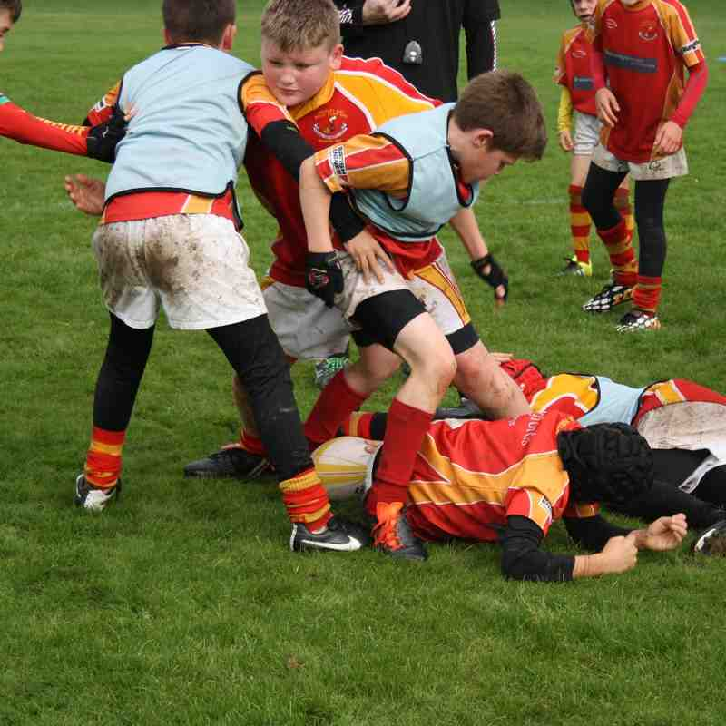 Gosforth v Rockcliff U11's 18 October 2015