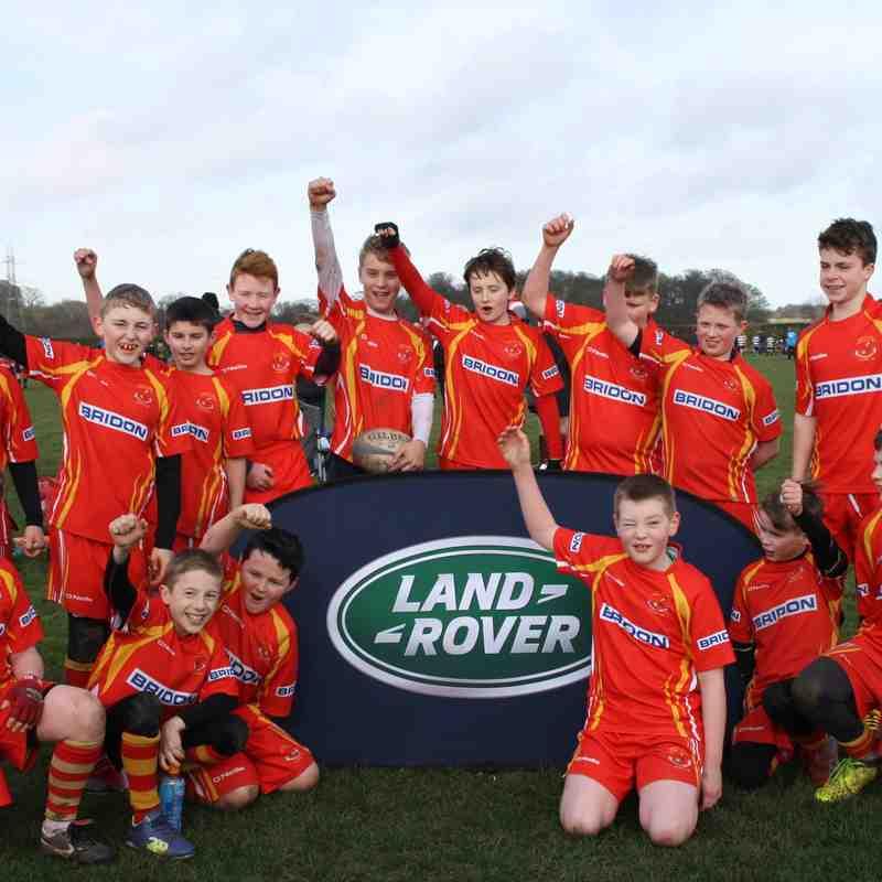 Landrover Cup 19/02/17 - Falcons