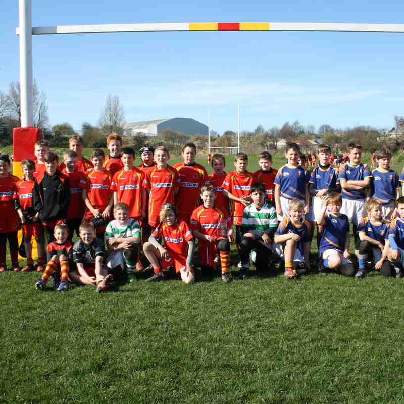 Waterfall Cup 26/03/17 Under 12's