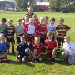 Malvern RFC Under 8 Training Squad 2015